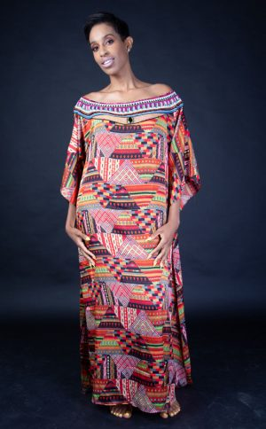AZTEC MULTI COLOUR DRESS