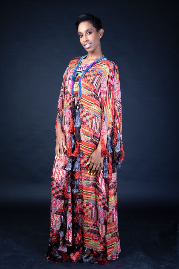 AZTEC MULTI COLOUR DRESS
