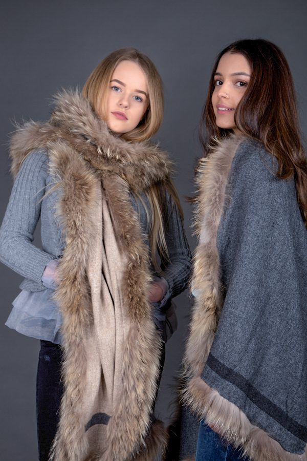 Victoria Range Reversible with Raccoon Fur